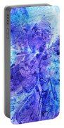 Frosted Window Abstract I   Portable Battery Charger