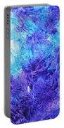 Frosted Window Abstract IIi Portable Battery Charger