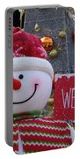 Frosty Greetings Portable Battery Charger