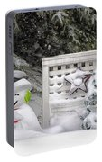 Frosty The Snow Man Portable Battery Charger