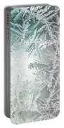 Frosty Windowpane Portable Battery Charger
