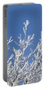 Frosty Winter Wonderland 01 Portable Battery Charger