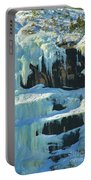 Frozen Artwork Portable Battery Charger