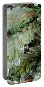 Frozen Boughs Portable Battery Charger