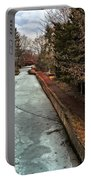 Frozen Canal Portable Battery Charger