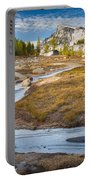 Frozen Enchantments Creek Portable Battery Charger