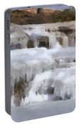 Frozen Falls Portable Battery Charger