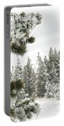 Frozen Forest Portable Battery Charger