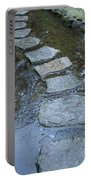 Slippery Stone Path Portable Battery Charger