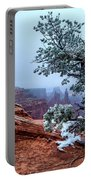 Frozen Overlook Portable Battery Charger