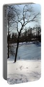 Frozen Pond2 Portable Battery Charger