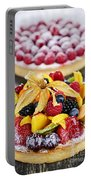 Fruit And Berry Tarts Portable Battery Charger