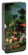Fruit And Birds Portable Battery Charger