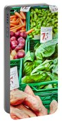 Fruit And Vegetable Stall Portable Battery Charger