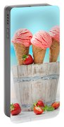 Fruit Ice Cream Portable Battery Charger