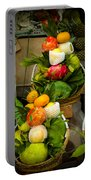 Fruit Stall In Vietnamese Market Portable Battery Charger