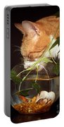 Frustrated Feline Portable Battery Charger