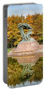 Fryderyk Chopin Statue In Warsaw Portable Battery Charger