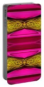 Fuchsia Sensation Zigzags Portable Battery Charger