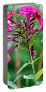 Fucia  Tubular Flowers Portable Battery Charger