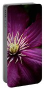 Full Bloom Clematis  Portable Battery Charger