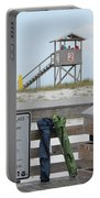 Full Day At The Beach Portable Battery Charger