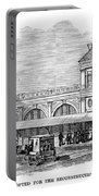 Fulton Fish Market, 1881 Portable Battery Charger