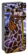 Fun Giraffe Carousel Ride Portable Battery Charger