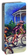 Fun Time In Bicycling Portable Battery Charger