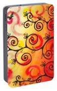 Fun Tree Of Life Impression I Portable Battery Charger