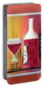 Fun Wine Time Portable Battery Charger