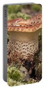 Fungi Wearing Lace Portable Battery Charger