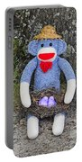 Funky Monkey - Purple Peeps Portable Battery Charger