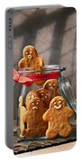 Funny Gingerbread Men Portable Battery Charger