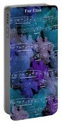 Fur Elise Music Digital Painting Portable Battery Charger