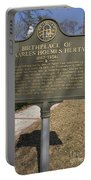 Ga-005-10 Birthplace Of Charles Holmes Herty 1867-1938 Portable Battery Charger