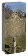 Ga-005-28 Cemetery Square Portable Battery Charger
