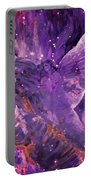 Galactic Angel - Rose Portable Battery Charger