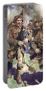 Gallant Piper Leading The Charge Portable Battery Charger by Cyrus Cuneo