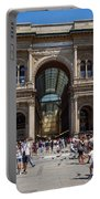 Galleria Vittorio Emanuele. Milan Portable Battery Charger