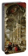 Gallery With Views Of Modern Rome Portable Battery Charger