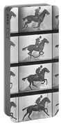 Galloping Horse Portable Battery Charger by Eadweard Muybridge