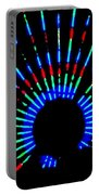 Gama Ray Light Burst Abstract Portable Battery Charger