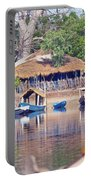 Gambian Fishing Village Portable Battery Charger