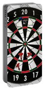 Game Of Darts Anyone? Portable Battery Charger by Kaye Menner