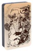 gandalf- Tolkien appreciation Portable Battery Charger