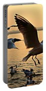 Ganges River Gulls Portable Battery Charger