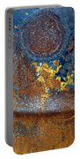 Garbage Can Abstract Portable Battery Charger