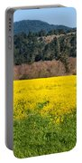 Garcia River Floodplain In Spring Portable Battery Charger