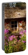Garden - Belvidere Nj - My Little Cottage Portable Battery Charger by Mike Savad